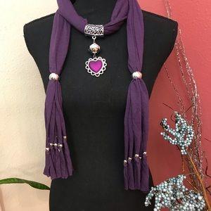 NWT 15ea or 2/20 pendant scarf.